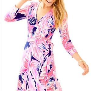 Lilly Pulitzer Emilia Wrap Dress NWT!